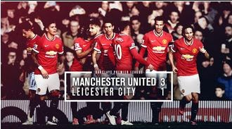 Daley Blind Man of the Match MU vs Leicester 3-1