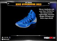 NBA 2K14 Nike Hyperdunk 2013