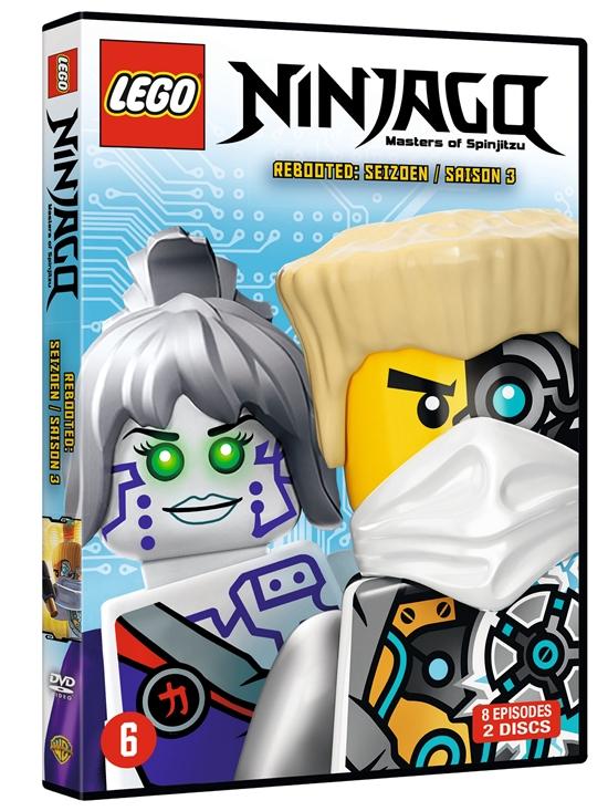 lego ninjago saisons 3 et 4 disponible ds prsent en dvd chez whv