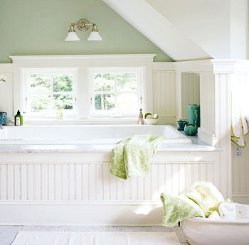 Cottage Bathroom Vanities on Cottage Farmhouse Inspired Half Bath Laundry     Bathroom Designs