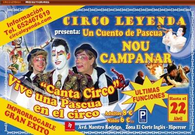 gran circo leyenda