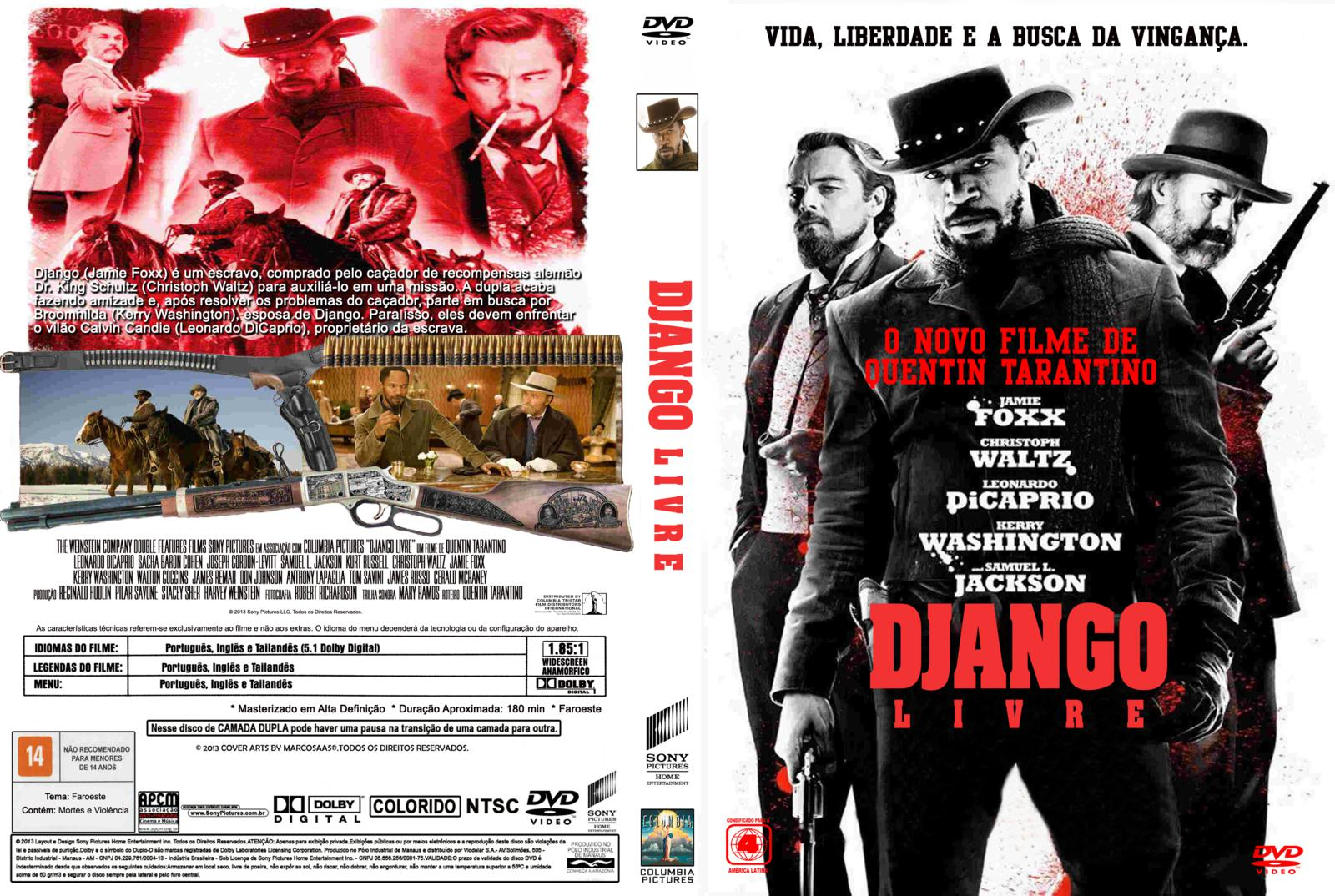 Download Django Livre BDRip XviD Dual Áudio dvd www