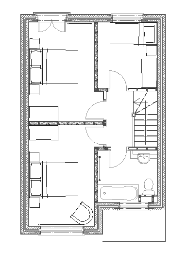 Pin 100 square meters house design on pinterest for 100 sq meters house floor plan