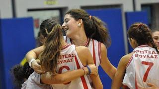 """Στους """"8¨του κυπέλλου γυναικών οι νεανίδες Πρωτέα Βούλας και Κρόνου"""