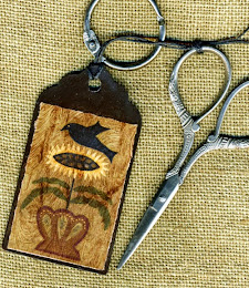 Sunflower Protector Scissor Fob/Floss Tag - $11.50
