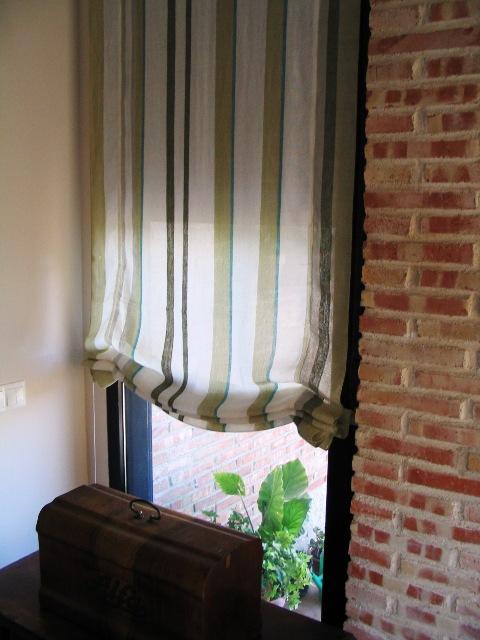 Algolisela estores de lino cortinas de algod n y fulares - Estores de lino ...
