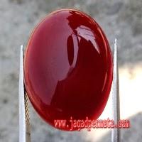 Batu Red Baron Merah Super