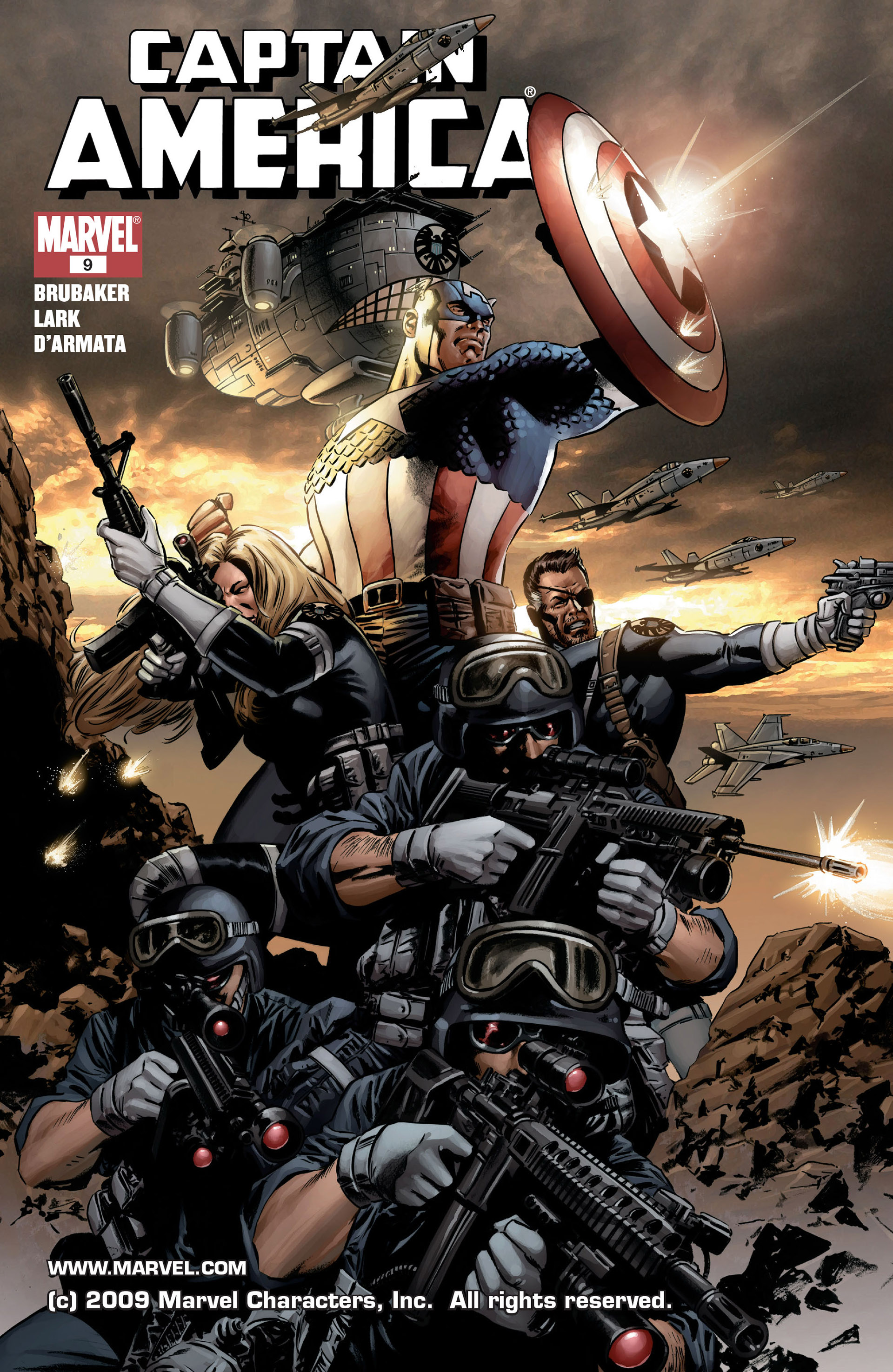 Captain America (2005) Issue #9 #9 - English 1
