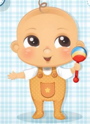 Bebés lindos, amados y consentidos.