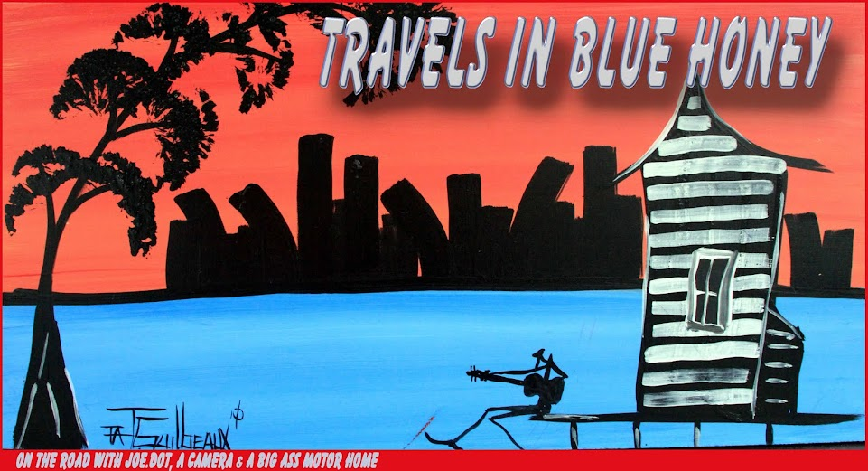 Travels In Blue Honey