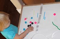sticky sensory table