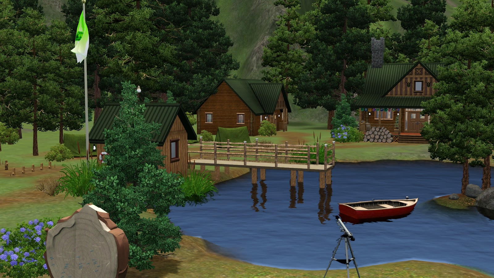 Send Your Sims To Summer Camp At Camp Plumbob!