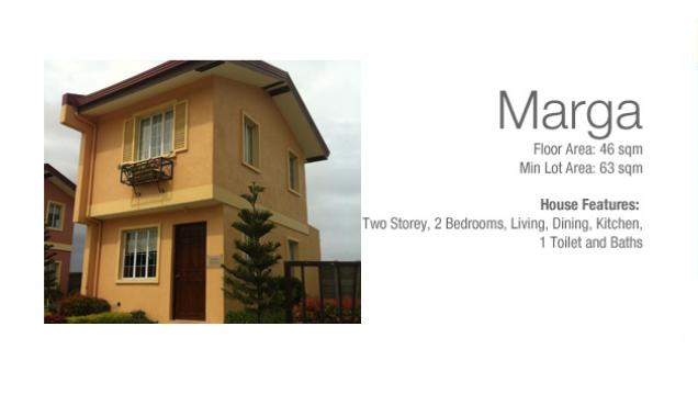 Marga Two Storey House in Camella Carcar Cebu