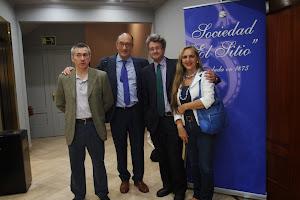 En la Sociedad El Sitio de Bilbao, conferencia