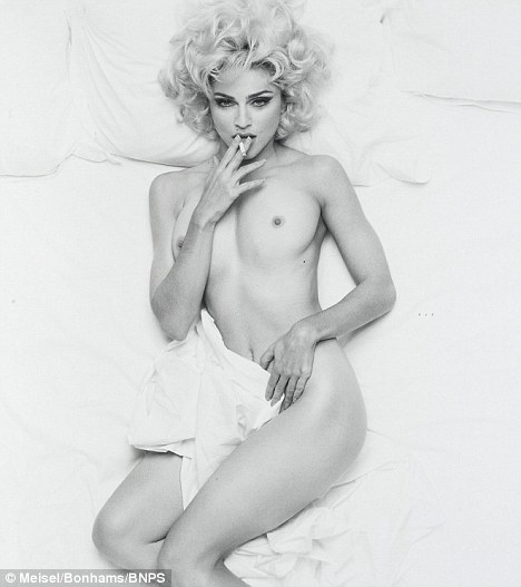madonna nipple