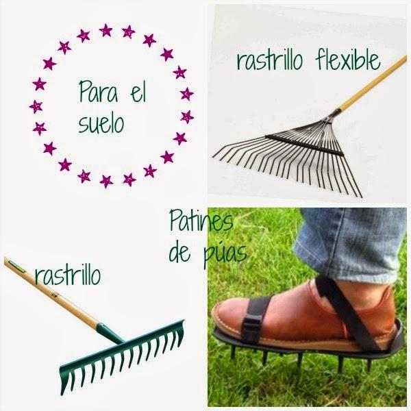 herramientas jardín