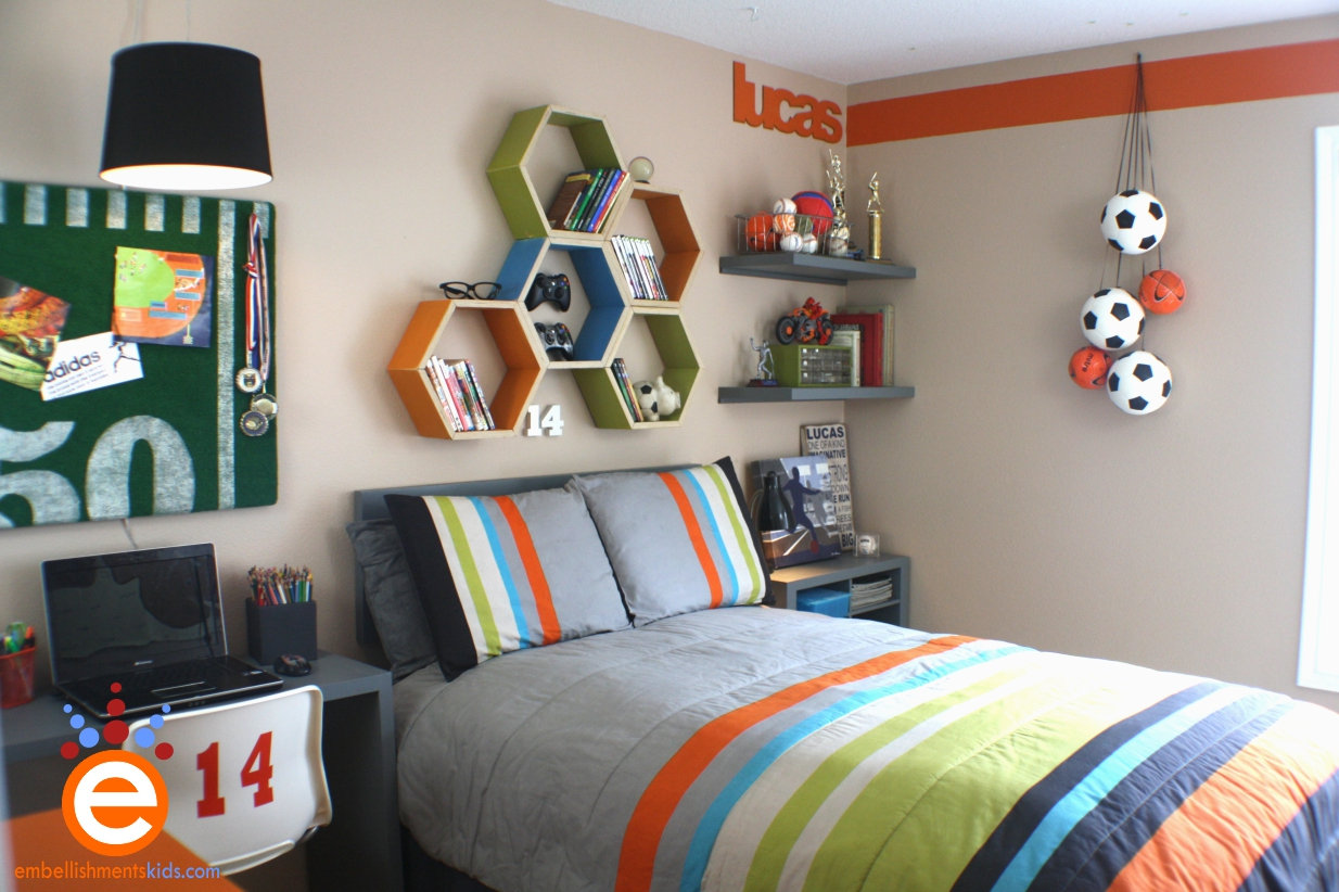 Soccer Teen Boys Bedroom Ideas
