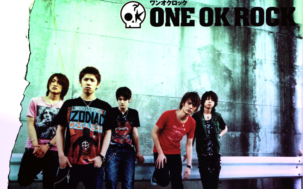 One ok Rock Japanese Logo One ok Rock Stylized as One