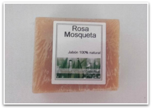 Natural Carol Jabón Rosa Mosqueta