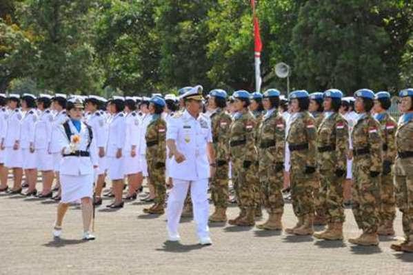 Korps Wanita Angkatan Laut Terlibat Misi Perdamaian PBB
