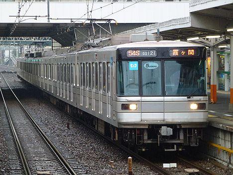 東京メトロ日比谷線 霞ヶ関行き1 03系LED5扉(平日5本運行)