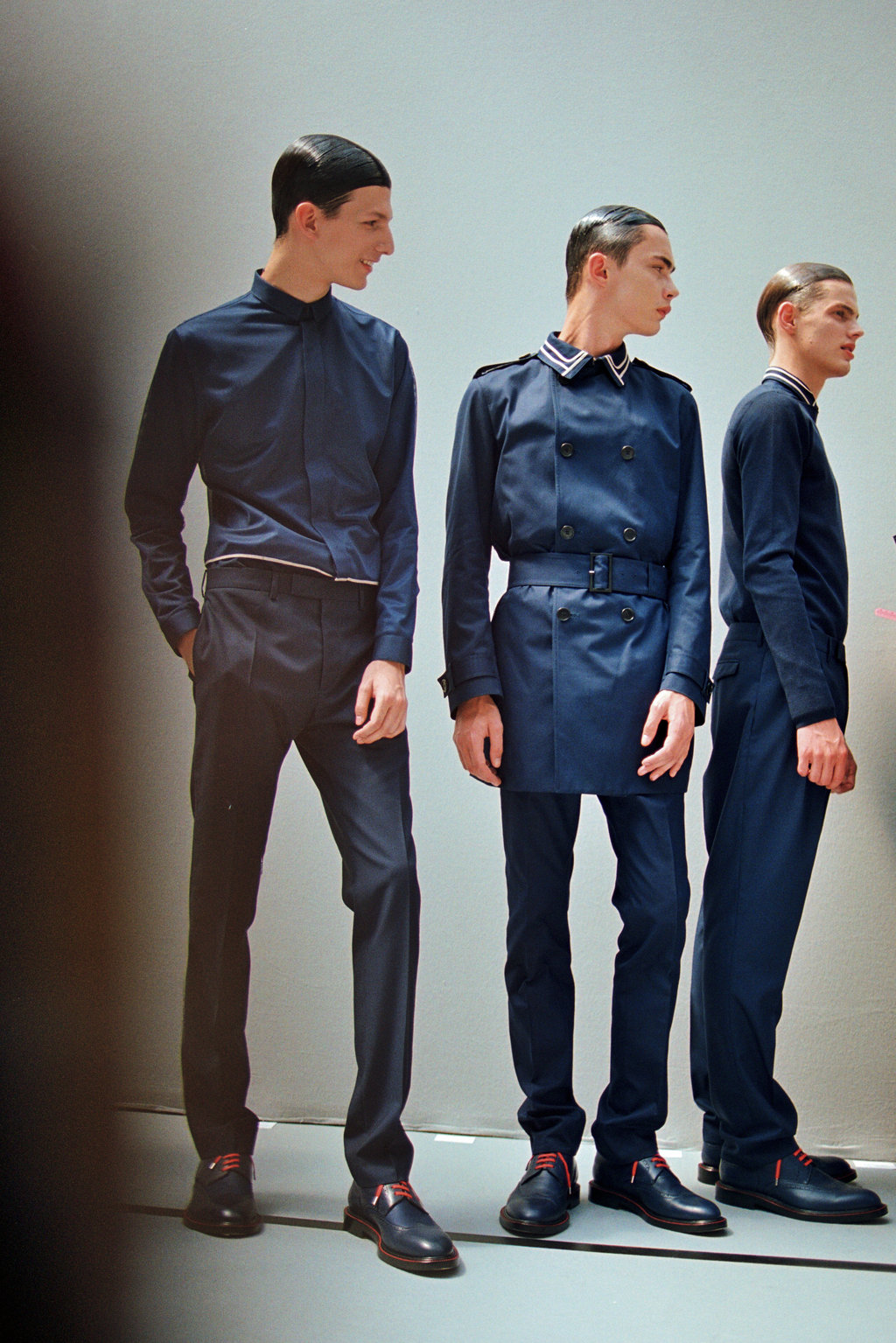 BACKSTAGE DIOR HOMME - INDEPENDENT MEN MILANO - PARIS FASHION WEEK