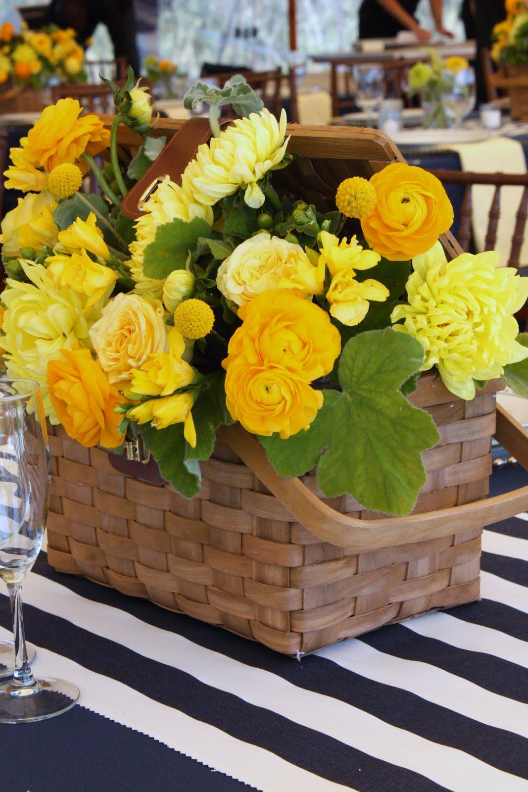 BLUSH Floral Design Yacht Club Navy And Yellow Preppy Wedding