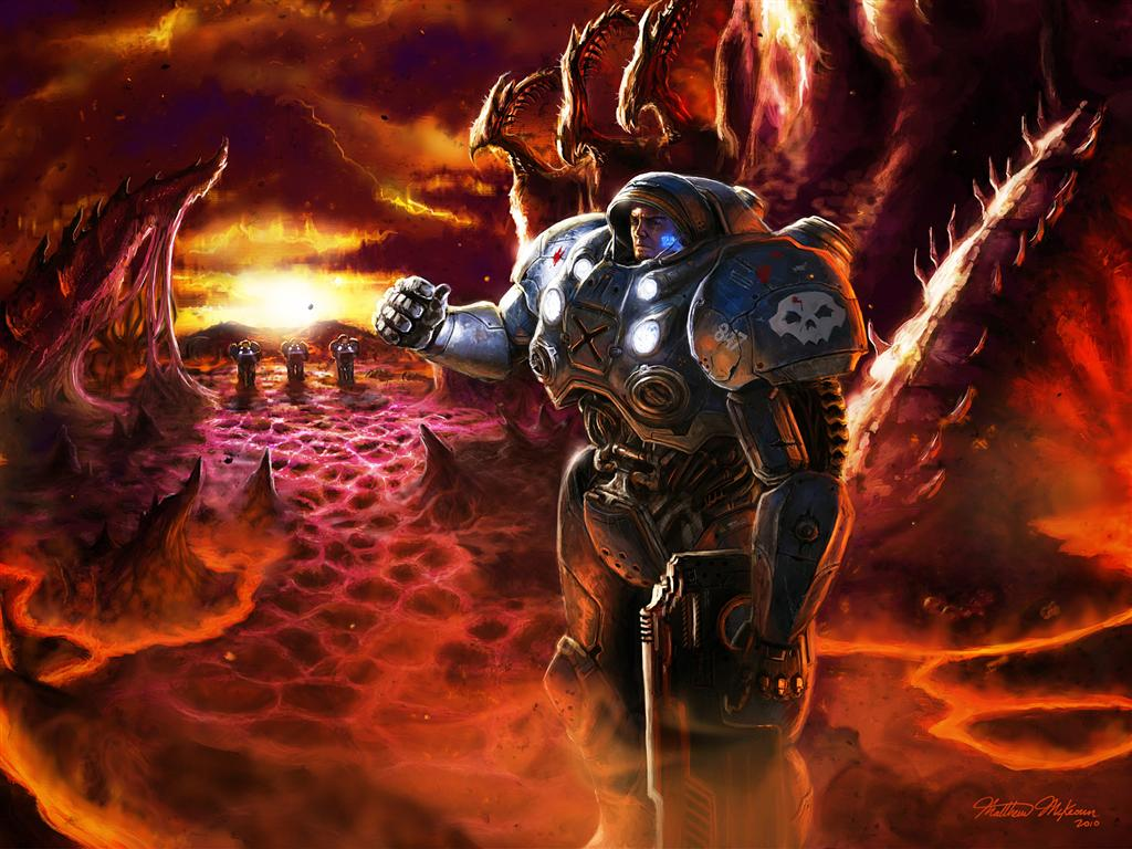 Starcraft HD & Widescreen Wallpaper 0.777788355681945