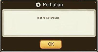 Nickname Karakter ID Monopoly Online