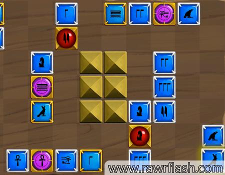 Jogos de puzzle, quebra-cabeças: Egyptian Stones. Educa jogsaw online puzzle.