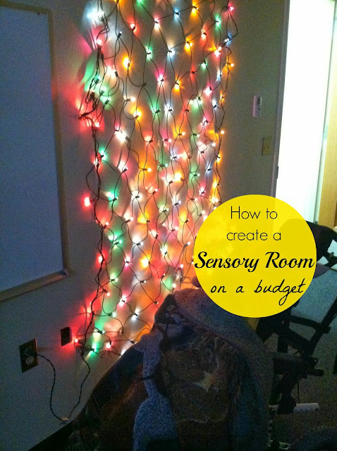 Little miss kimberly ann tips for creating a sensory room for Activity room decoration