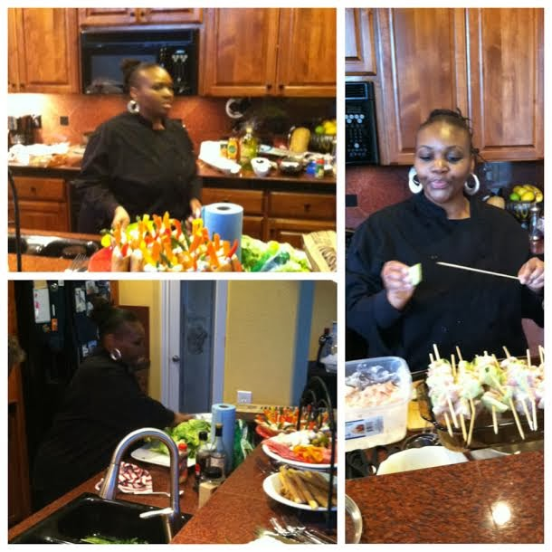 Catering By Chrisetta: Cocktail/50th Birthday Party
