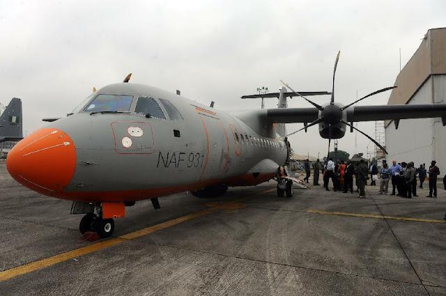 Nigerian Airforce ATR 42-500