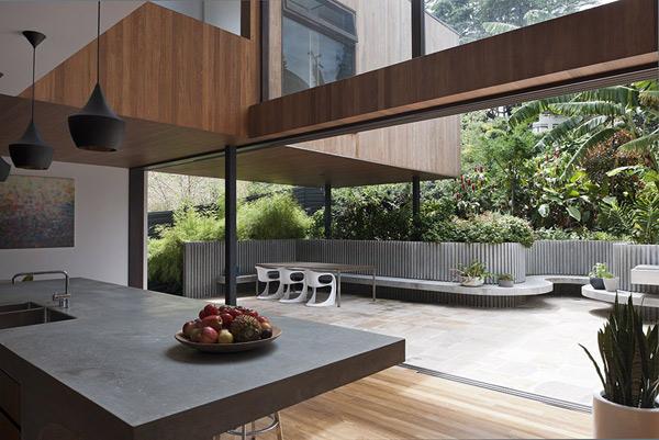 Garden house plans aussie architecture interior exterior for House plans with indoor garden