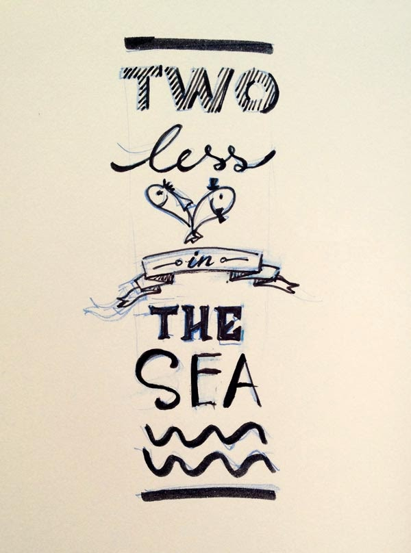 Vy 39 s creative journal for Two less fish in the sea