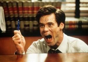 Jim Carrey em O Mentiroso - 300x211