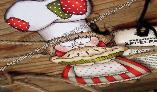 Rosa Koksredskap : Enjoy my SkogsTokiga creations Skogstokig Troloda for koksredskap