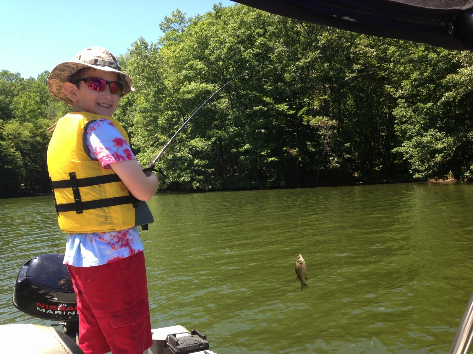how to catch white perch in a lake