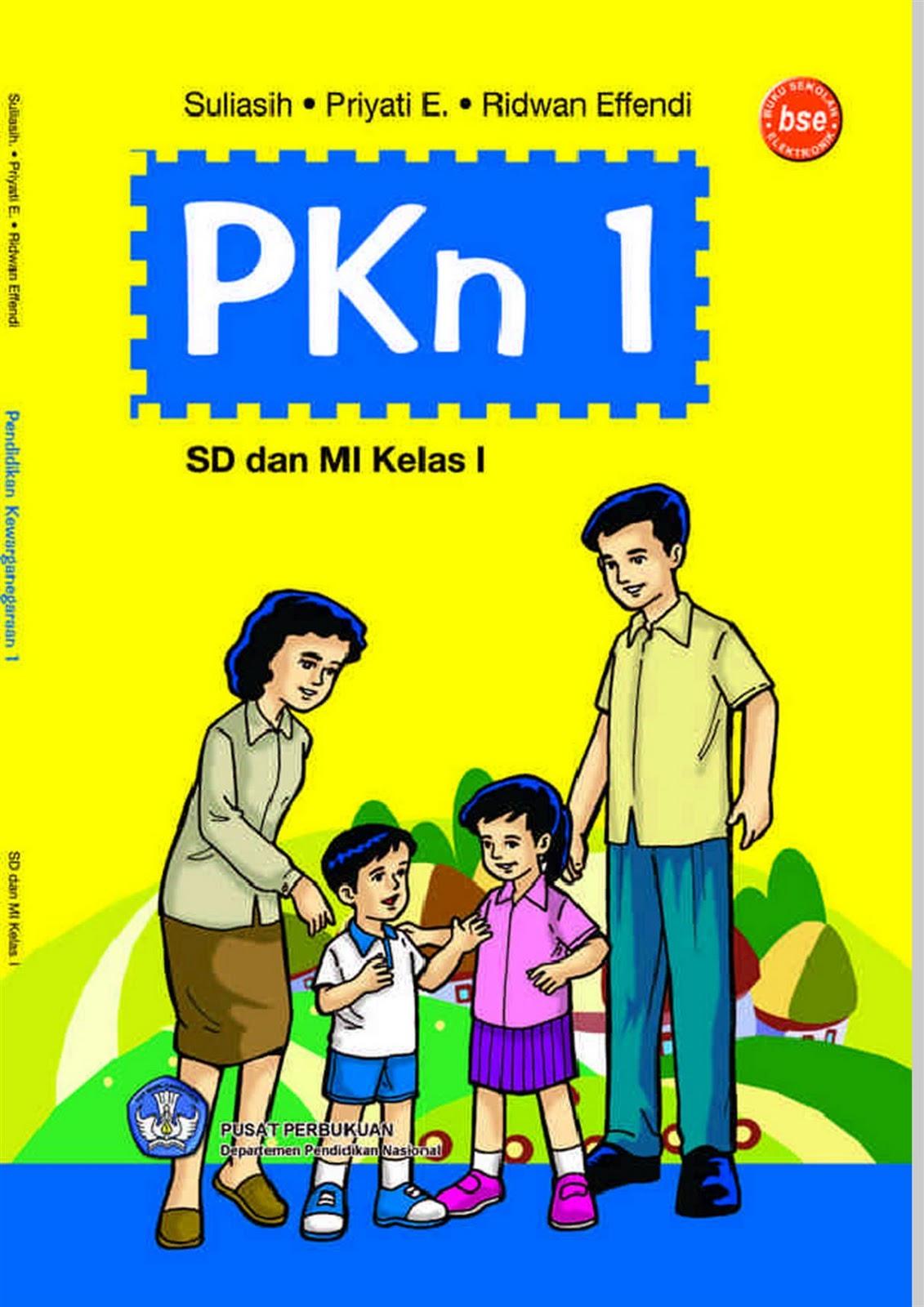 Buku PKn-1 SD/MI Kelas 1