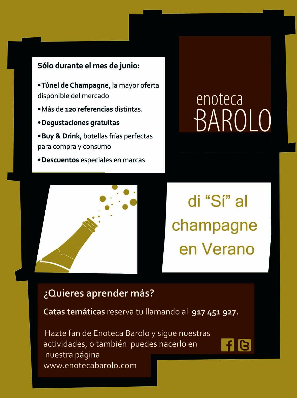 "Di ""Sí"" al Champagne en verano"