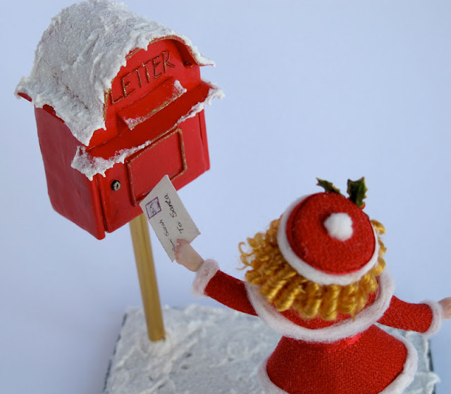 Caro Babbo Natale - Mini Scultura 1/12 - By Celidonia - Daniela Messina