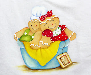 casal de bonecos ginger
