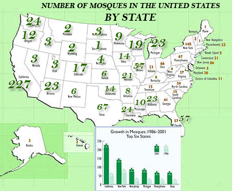 FlatWorld Indepth - Map of hate groups in us