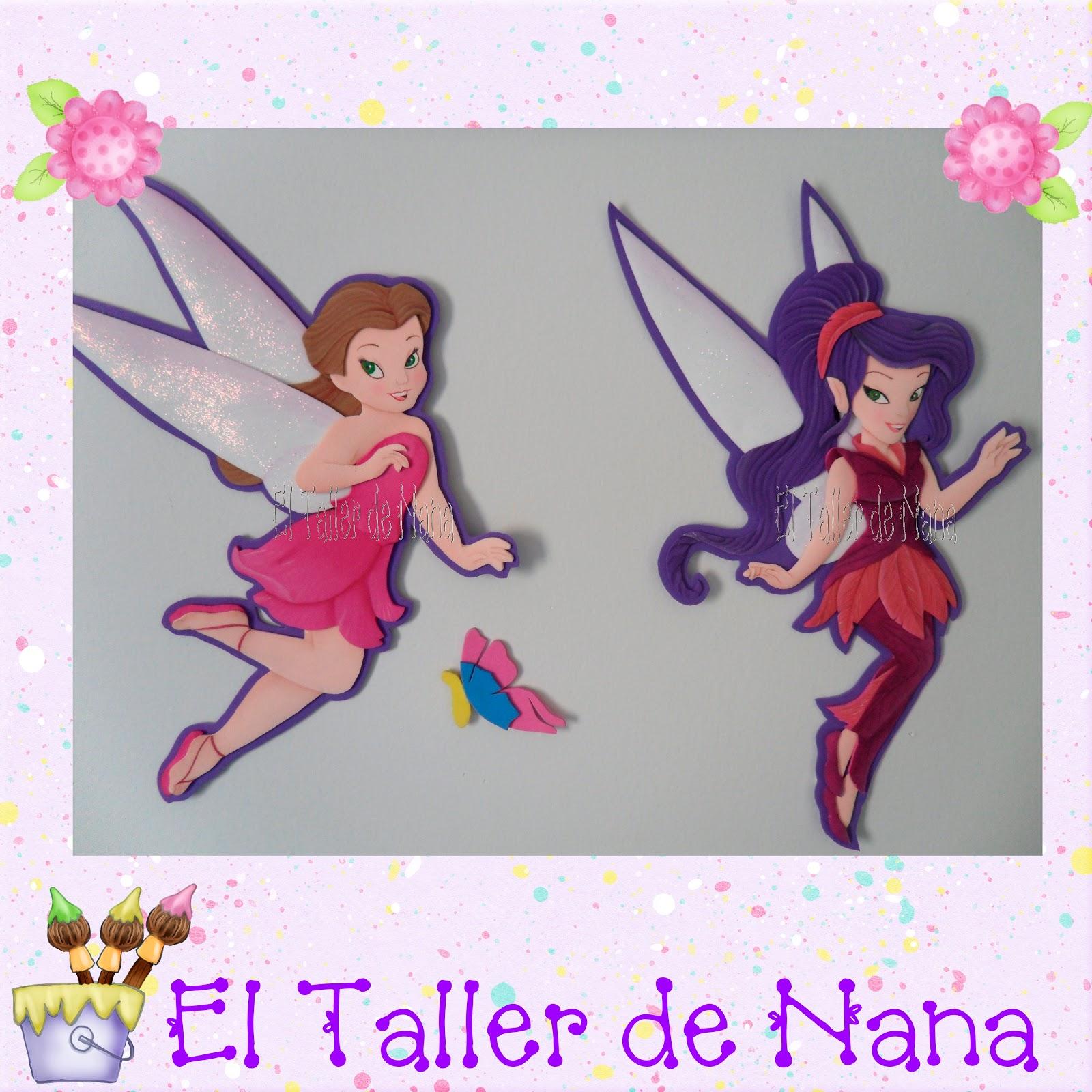 El Taller de Nana: Hadas de Disney