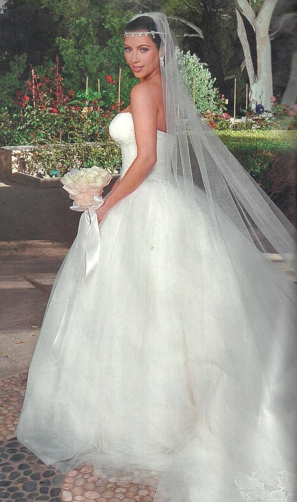 Kardashian Wedding- Kim and Kris ~ The Wedding Dresses