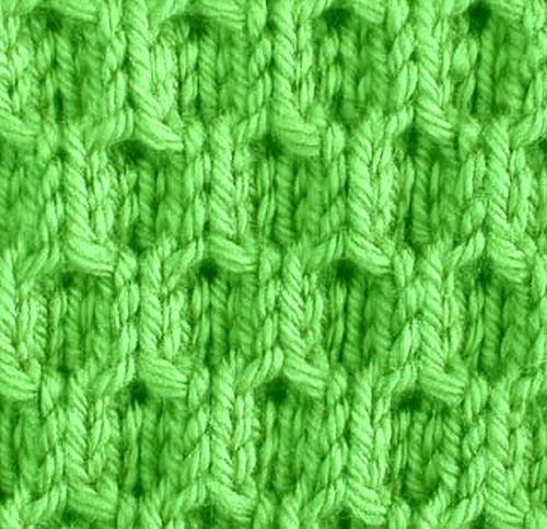 Simple Knitting Stitches : Knitting Galore: Saturday Stitch: Easy Honeycomb Stitch.