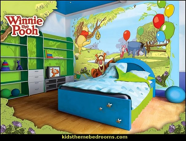 decorating theme bedrooms maries manor winnie the pooh disney winnie the pooh bedroom mural 10ft x 8ft walltastic