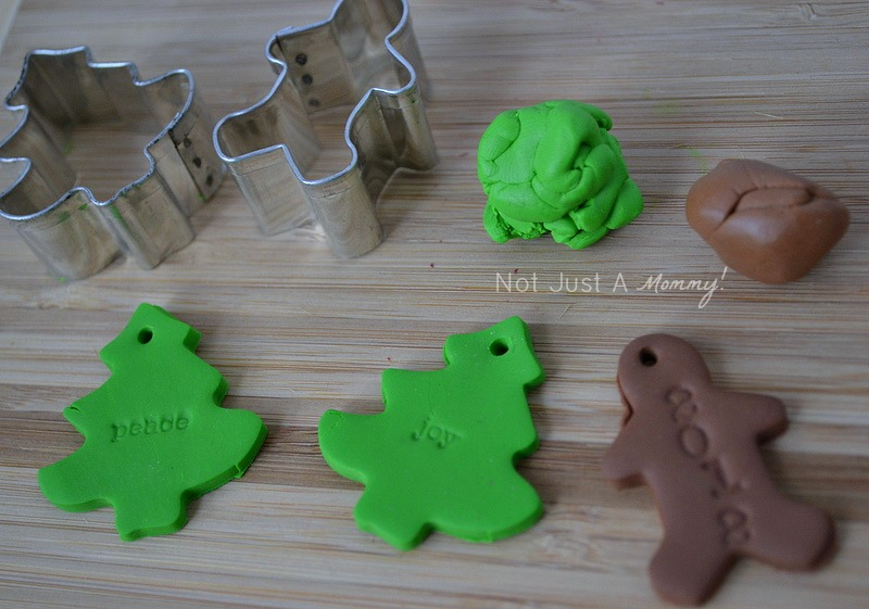polymer clay gift toppers
