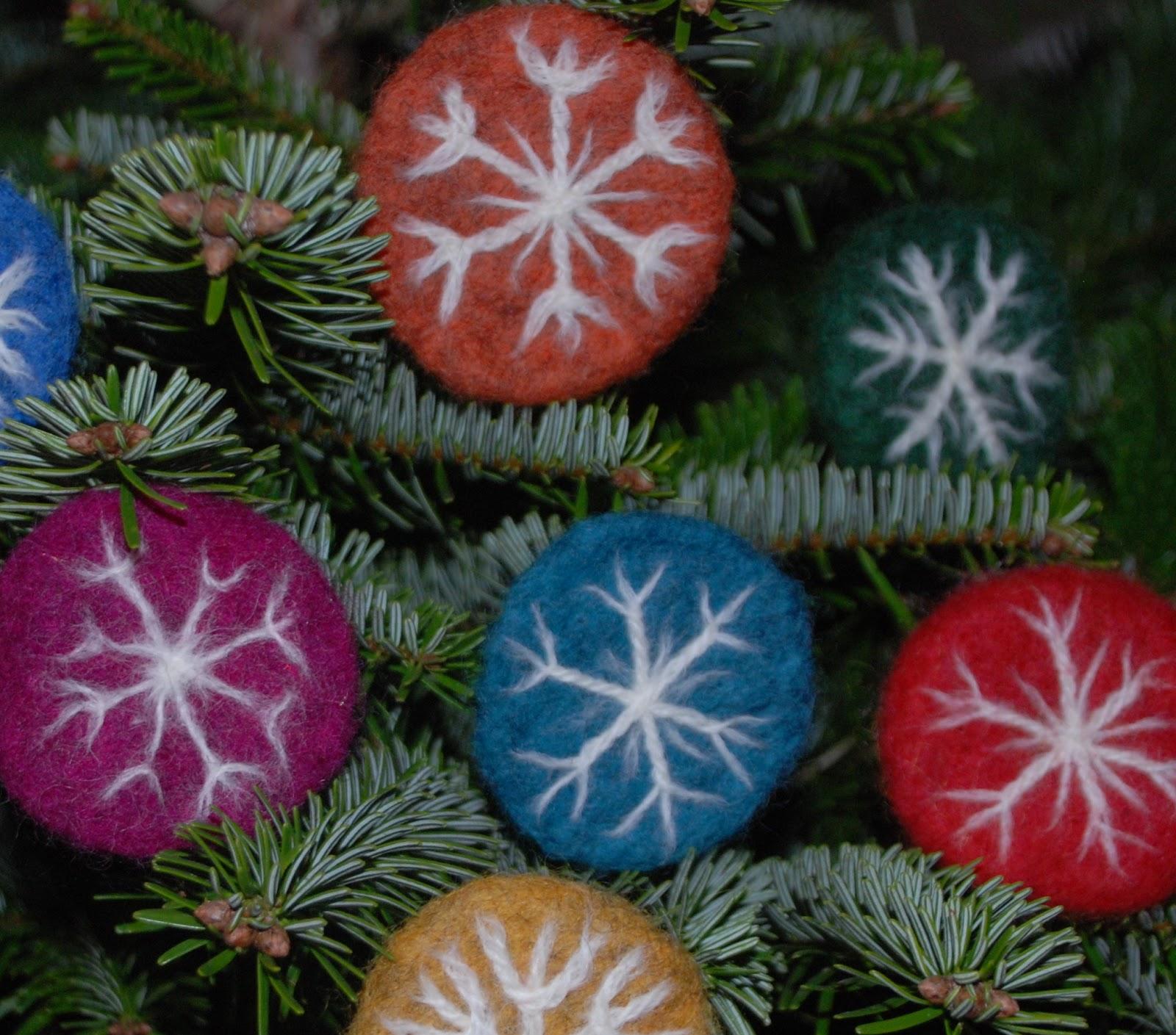 Foxglove Felts: Christmas Feltings