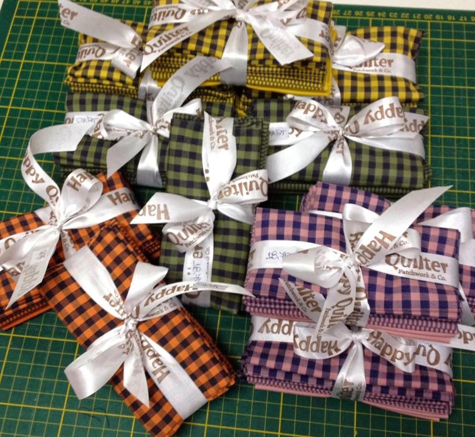 Kits Tecido The Happy Quilter brazil patchwork show balaio de tigre artesanato